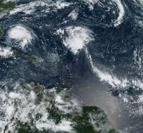 Dorian como huracán de categoría 5 avanza a Bahamas. Foto: AFP