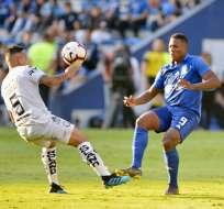 Los 'azules' vencieron 2-1 a Guayaquil City con gol en el minuto 93. Foto: API