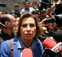GUATEMALA.- Sandra Torres, también ex candidata presidencial, es investigada por corrupción electoral. Foto: AFP