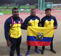 Atletas de Los Juegos Parapanamericanos.