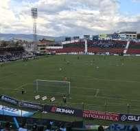 Estadio Bellavista, en donde se jugó el último partido de la fecha.