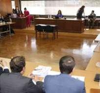 QUITO, Ecuador.- La exasesora de Rafael Correa confirmó sobornos de contratistas del Estado a Alianza PAIS. Foto: API