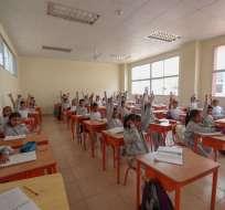 Asesor Cuesta indicó que régimen ayudará a instituciones a recuperar sus deudas. Foto referencial / Min. Educación