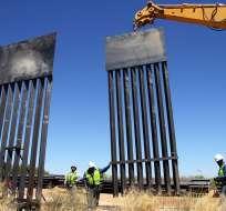 Pentágono aplazará centenares de proyectos en recintos militares para la valla fronteriza. Foto: Archivo AFP
