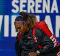 Serena en el abierto de Estados Unidos. Foto: US Open.