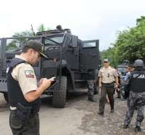 Autoridades creen que en Ecuador aumentaría narcotráfico y minería ilegal. Foto: Archivo Min. Interior