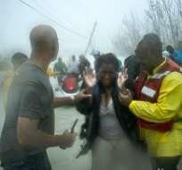 Al menos siete muertes han sido reportadas en las Bahamas por Dorian. Foto: AP