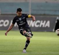 Efrén Mera, jugador de Independiente del Valle. Foto: Twitter IDV.