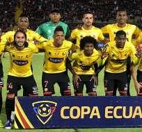 BSC previo a un partido por Copa Ecuador.