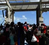 BAHAMAS.- Cientos de personas siguen desaparecidas en Bahamas tras el paso devastador del huracán. Foto: AFP