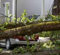 DARTMOUTH, Canadá.- 'Dorian' alcanzó vientos de hasta 140 km/h. Foto: AFP