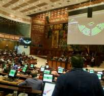 QUITO, Ecuador.- Temas como la despenalización del aborto son analizados en el Legislativo. Foto: Asamblea
