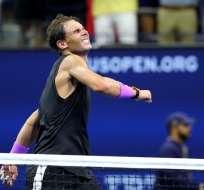 Rafael Nadal festeja su título en US Open. Foto: Mike Stobe / GETTY IMAGES NORTH AMERICA / AFP