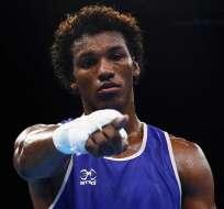 Carlos Mina, boxeador nacional.