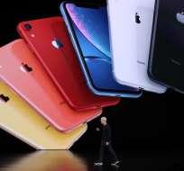 Apple presenta el iPhone 11, con cámara dual. Foto: AFP