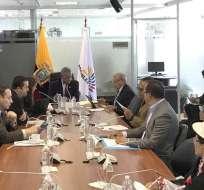 QUITO, Ecuador.- Comisión de Relaciones Internacionales aprobó informe sobre denuncia de tratado de Unasur. Foto: Twitter