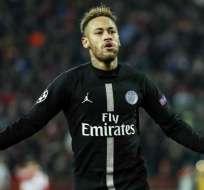 Neymar llegó al PSG en 2017.