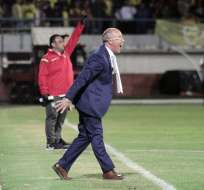 El entrenador de Ecuador valoró nuevamente a los jugadores jóvenes de la 'Tricolor'. Foto: API