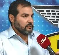 Carlos Manzur,  dirigente de la FEF.