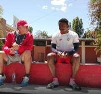 El entrenador de El Nacional aseguró que va conociendo como es el fútbol en el país. Foto: Tomada de @Elnacionalec