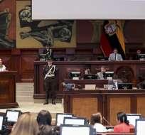 QUITO, Ecuador.- Pleno de la Asamblea retomó el segundo debate de las reformas al Código de la Democracia. Foto: Asamblea