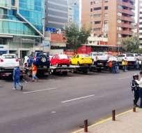 """Medida es parte del control de la restricción vehicular """"Hoy no circula"""". Foto: AMT"""