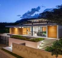 La 'Casa Tacuri', en Nayón, ganó premio Ornato como vivienda unifamiliar. Foto: @territorio_uio
