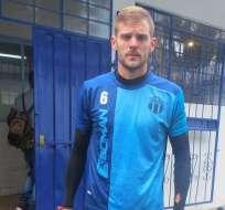 Llegó en 2018 al fútbol ecuatoriano.