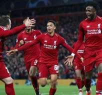 El Liverpool eliminó al Barcelona de la Champions League pasada.
