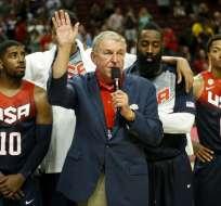 Jerry Colangelo, presidente de USA Basketball.