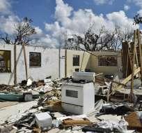 La zona lucha por recuperarse del azote del huracán Dorian. Foto: AFP