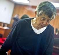 En los últimos 40 días Fujimori ha sido internado tres veces, según su médico.