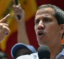 """Guaidó acusó a Maduro de """"proteger"""" a Iván Márquez y Jesús Santrich. Foto: AFP"""