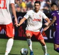 Cristiano Ronaldo, figura de la Juve.