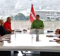 Se trata de un sector de la oposición, al margen de Juan Guaidó. Foto: AFP