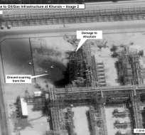 Atentado contra instalaciones acrecienta el miedo de una nueva guerra en la región del Golfo. Foto: Afp
