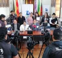 CUENCA, Ecuador.- El prefecto no descarta movilizaciones nacionales ni recurrir a la enmienda constitucional. Foto: Twitter
