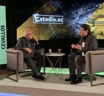Entrevista de José Cevallos con Estadio.ec.