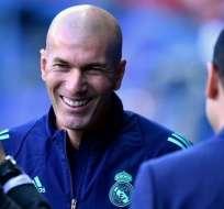Zidane, DT del Real Madrid.