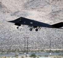 El F-117 fue uno de los aviones que se probó en el Área 51.
