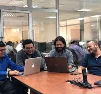El grupo, de 4 personas, se ubicó tercero entre Sudamérica y 20 a escala mundial. Foto: ecuavisa.com