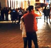 IBARRA, Ecuador.- Yordis Rafael L. fue condenado por matar a su expareja en plena calle. Foto: Archivo