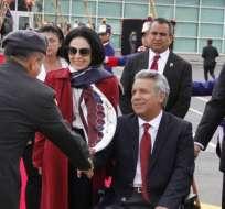ECUADOR.- Al mandatario lo acompañarán su esposa, el canciller y el secretario de Comunicación. Foto: Archivo