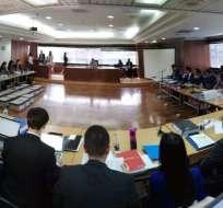 QUITO, Ecuador.- Fiscalía acusa al exvicepresidente y a otros exfuncionarios del delito de peculado. Foto: API