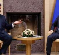 En diciembre de 2018, Maduro visitó a Putin en Moscú. Foto: AFP