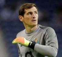 Iker Casillas, portero del Porto.