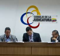 GUAYAQUIL, Ecuador.- Eduardo L. y otras 8 personas son investigadas por droga incautada en Manta, en 2018. Foto: API