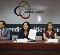 La medida también afecta al juez Jorge Guzmán, quien llevaba el caso. Foto: Judicatura