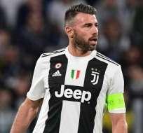 Andrea Barzagli, excapitán de la Juventus.