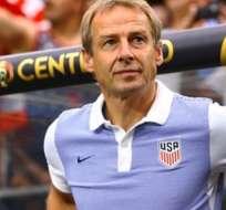 Jurgen Klinsmann, entrenador alemán en su paso por USA.